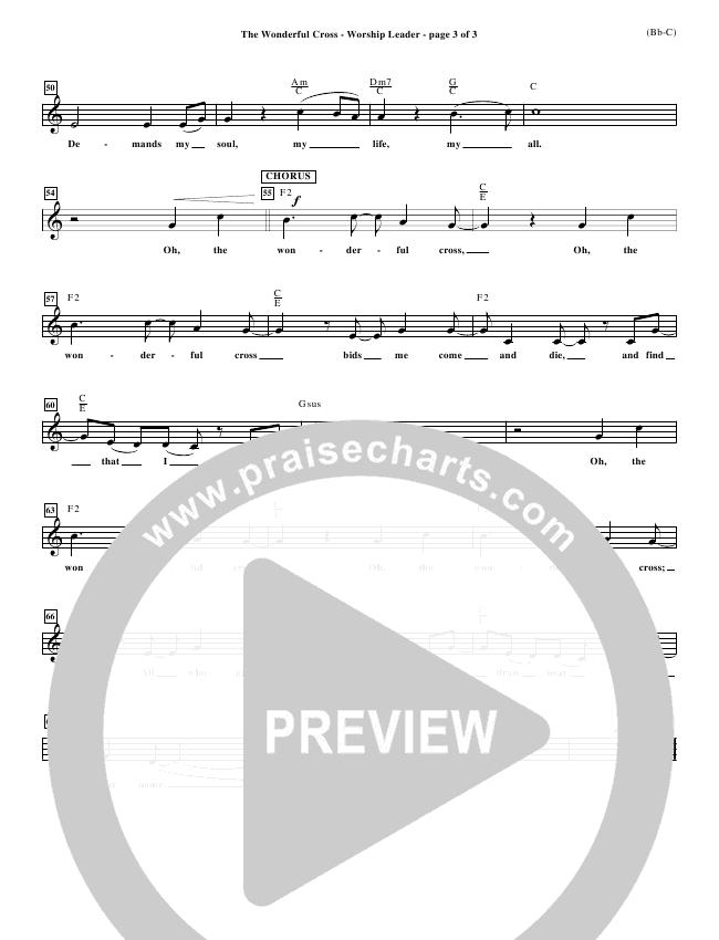 The Wonderful Cross Orchestration (Chris Tomlin)
