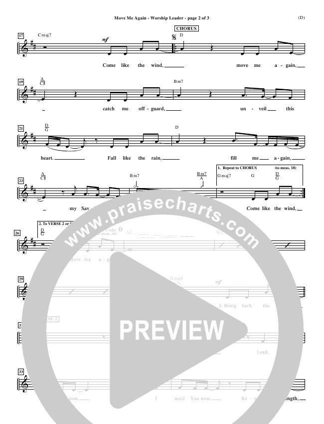 Move Me Again Orchestration (Scott Faircloff)