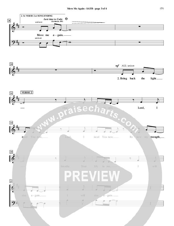 Move Me Again Piano/Vocal Pack (Scott Faircloff)