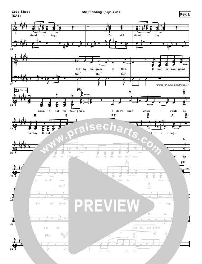 Still Standing Chords - Israel Houghton Worship Chords