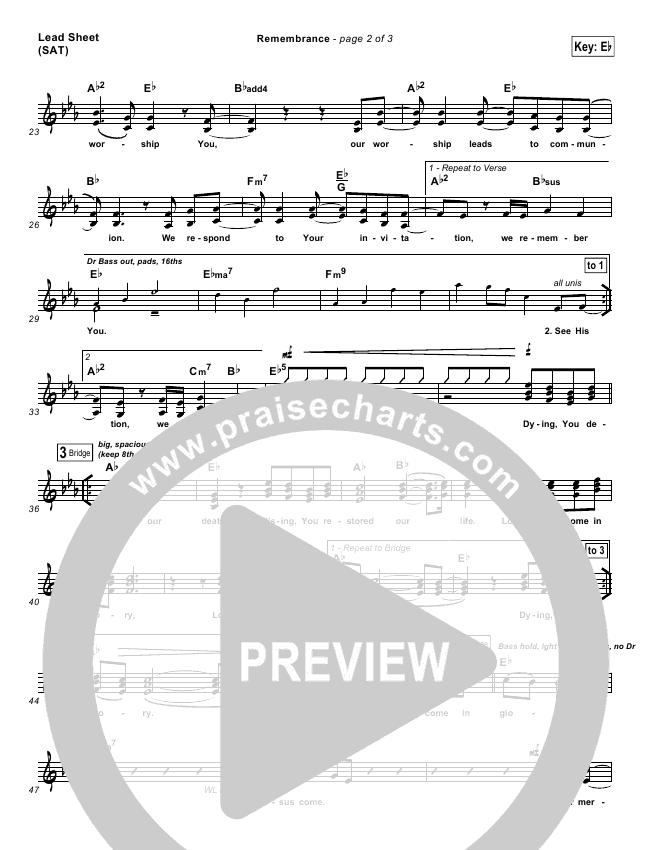 Remembrance Orchestration (with Vocals) (Matt Redman)