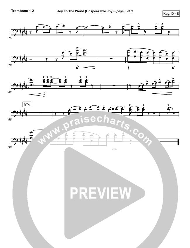 Joy To The World Unspeakable Joy Orchestration Chris Tomlin