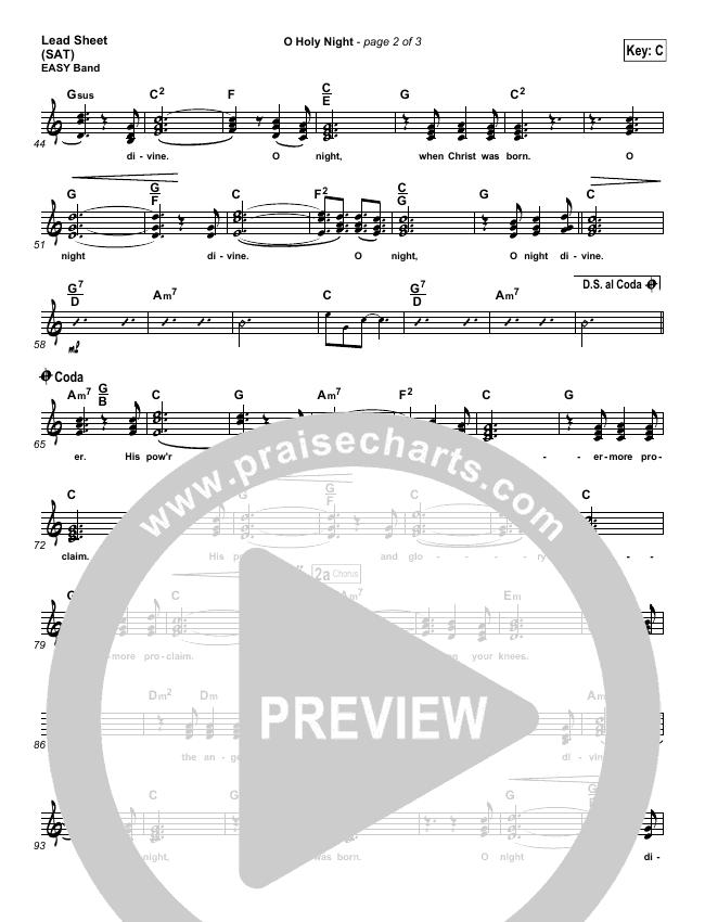 O Holy Night Light Orchestration (Chris Tomlin)